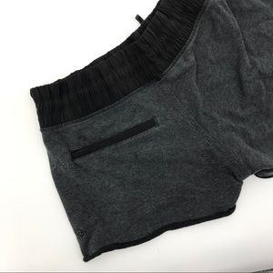 Lululemon gray knit soft shorts